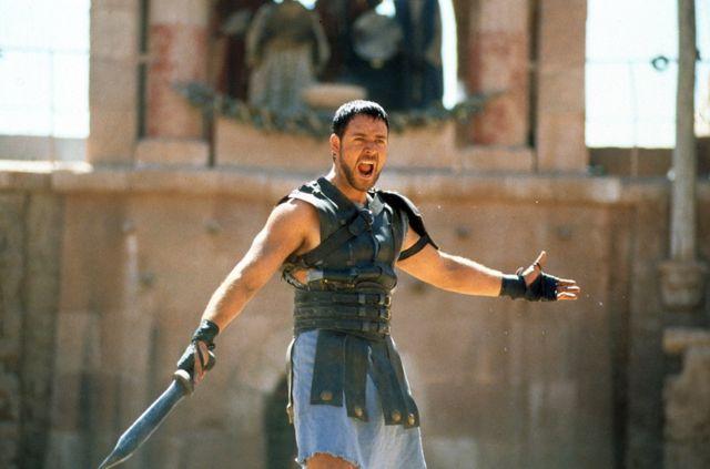 史诗大片《角斗士》(Gladiator),描述了那个手持宝剑、脚踩凉鞋的古罗马角斗士的传奇故事
