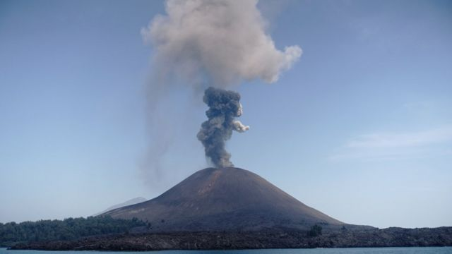 噴火 クラカタウ 大