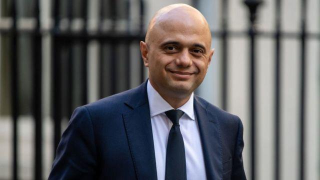 El responsable del Tesoro británico, Sajid Javid.