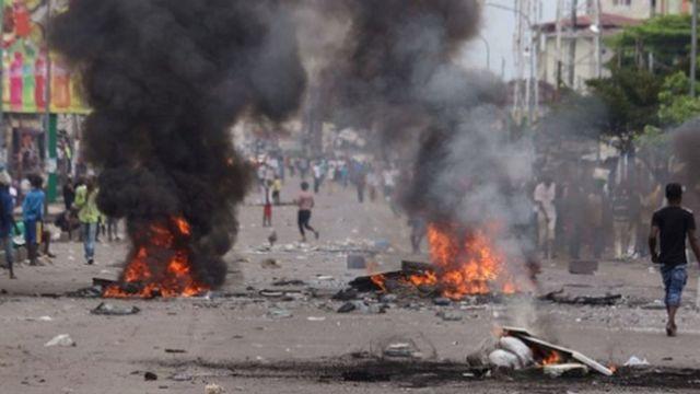 """Quinze personnes ont été condamnées à trois ans de prison pour """"rébellion"""" mercredi à Lubumbashi"""
