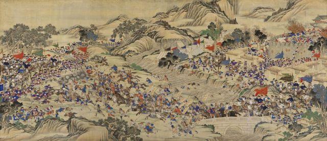 La rebelión de Taiping, obra de mediados del siglo XIX.