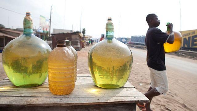 Man fetur din Najeriya da ake sayarwa a yankin Cotonou - ajiyayyen hoto