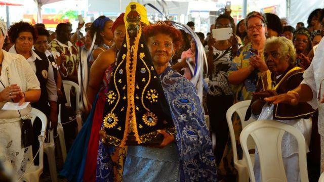 Missa afro em São Paulo comemora o Dia da Consciência Negra em 2015