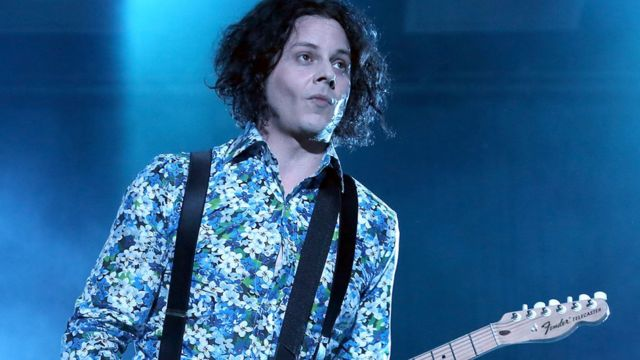 Jack White plays first vinyl in space