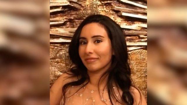 تصویری از لطیفه، دختر حاکم دوبی، قبل از فرار ناموفق در سال ۲۰۱۸