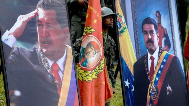 مادورو و چاوز