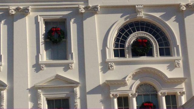 Decoração na Casa Branca
