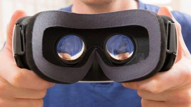 نظارة واقع افتراضي