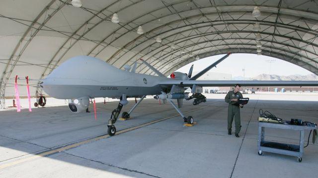 Drone militar estadounidense.
