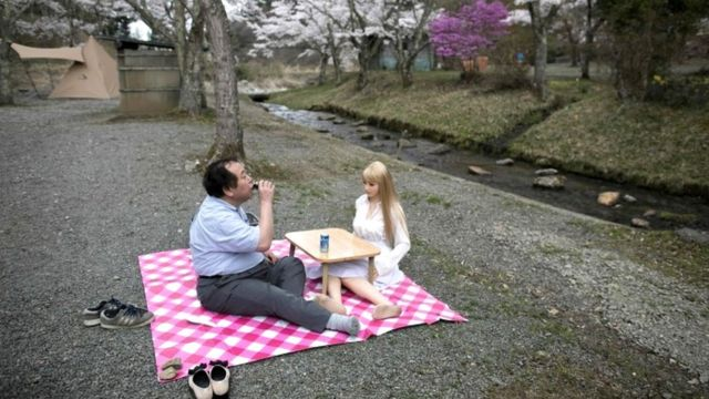 Jepang, boneka