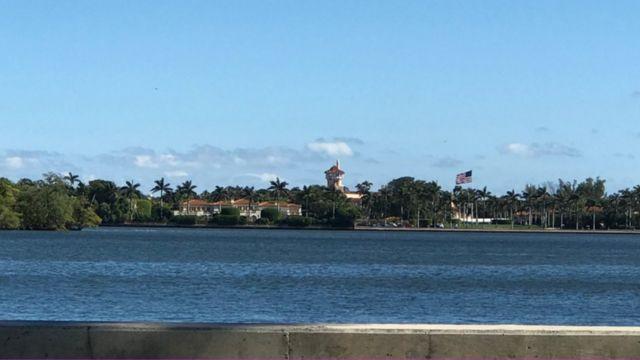 Mar-a-Lago a lo lejos, Palm Beach