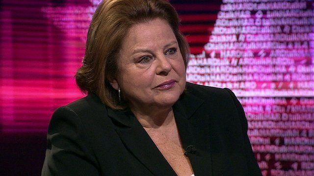 Louka Katseli, chair of National Bank of Greece