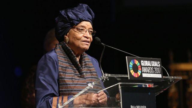 Liberia Ellen Johnson Sirleaf