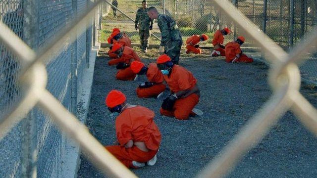معتقلون في غوانتانامو
