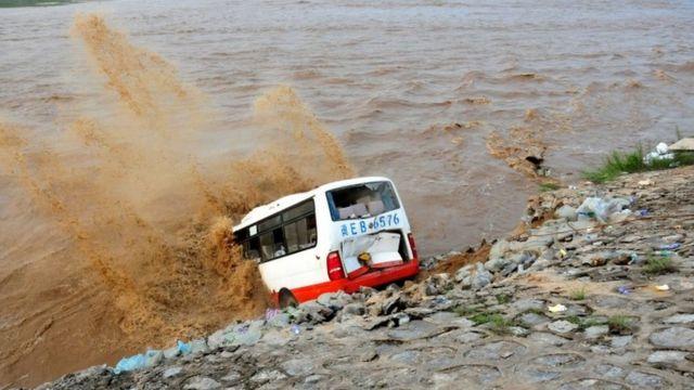 inundaciones en Hebei