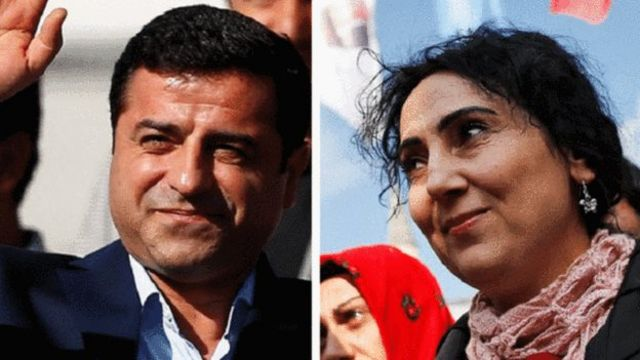 قيادات حزب الشعوب الديمقراطي التركي المعارض