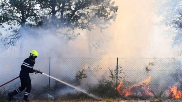 फ्रांस में आग