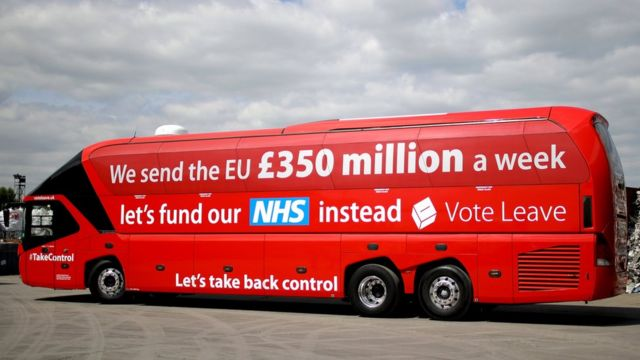 Vote Leave's campaign bus