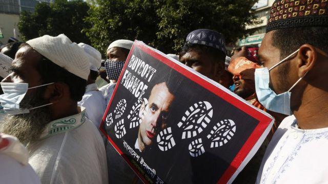 Акция протеста мусульман в Бангладеш