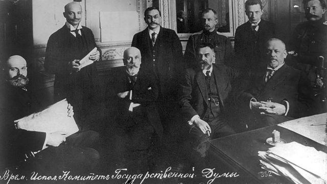 Исполнительный комитет Временного правительства.