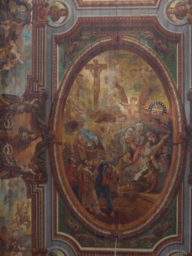 Teto da Igreja do Senhor do Bonfim em Salvador, Bahia