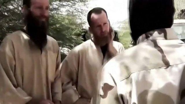 Captura de pantalla de un video de al Qaeda en el que aparece Stephen McGown. (Foto: Gift of the Givers)