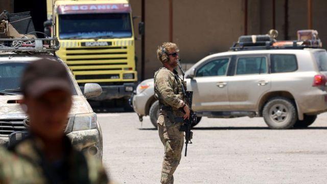 Suriye'de nasıl bir Amerikan askeri varlığı yer alıyor?