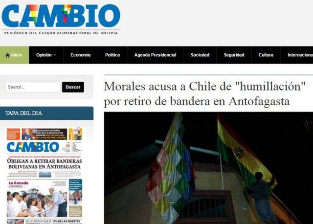 Periódico estatal boliviano