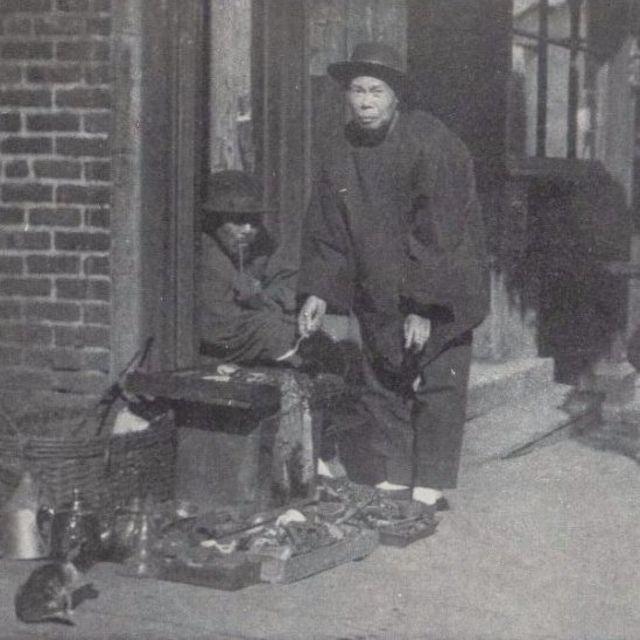 Un vendedor