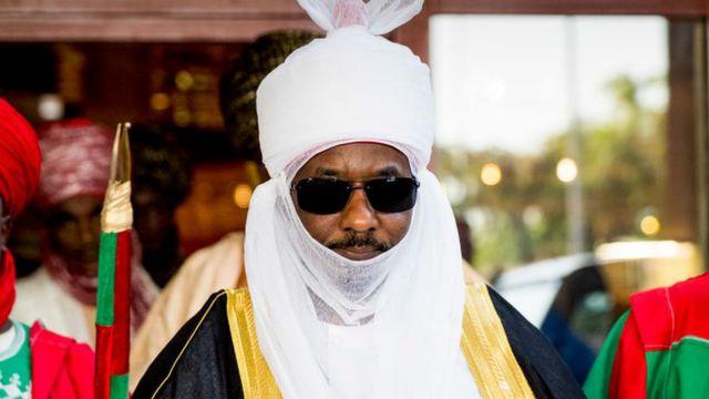 Emir Sanusi nke Kano bụbu onye gọvanọ ụlọakụ ukwu nke Naịjirịa