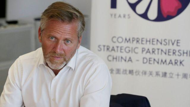 وزير الخارجية الدنماركي، أندرس سامولسن