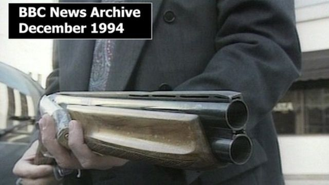 BBC archive of the day Thomas Bourke was found guilty of murdering two MOT inspectors.