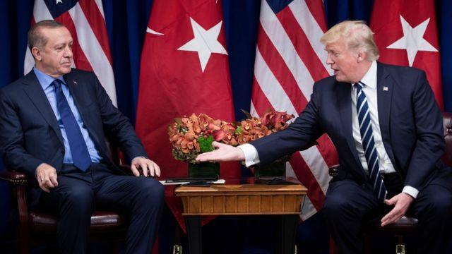 erdoğan ve trumo