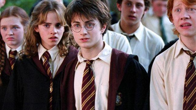 مشهد من فيلم هاري بوتر