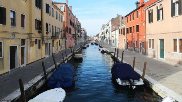 Los canales de Venecia