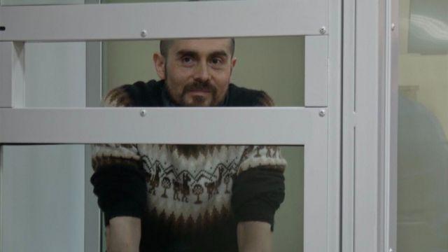 Даниэль Диас-Струков во время суда