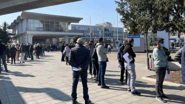Red na Beogradskom sajmu