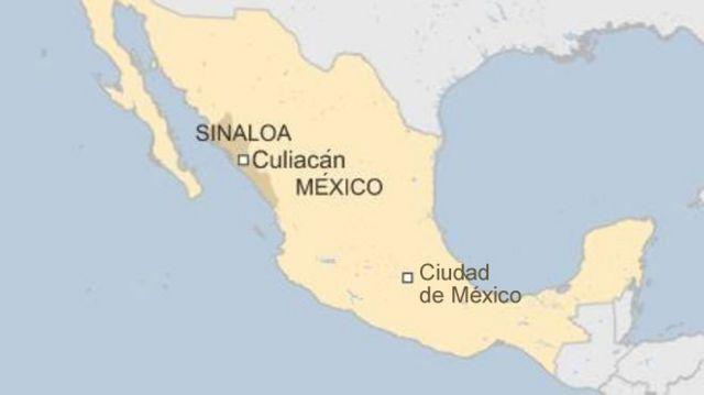 mapa Sinaloa