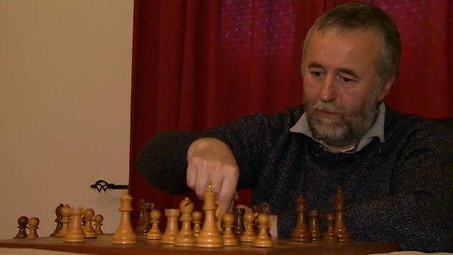 Nigel Davies, grand master chess player