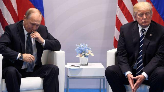 ترامپ و اوباما در اجلاس گروه ٢٠