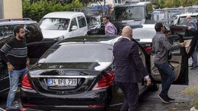 Саудовская официальная делегация прибыла в Стамбул 12 октября