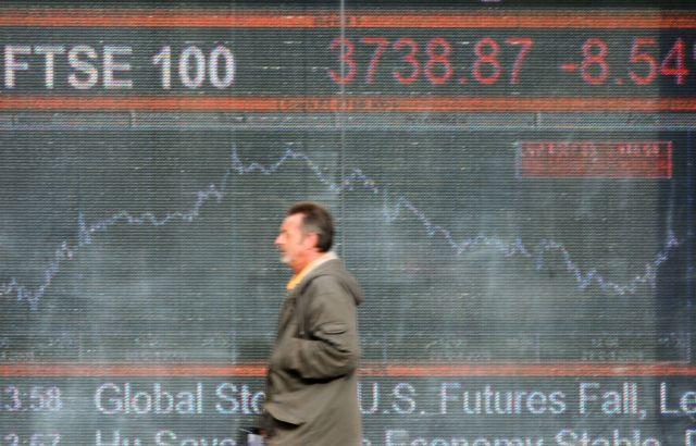 شاخص کل در بازارهای بورس اروپا و لندن در معاملات امروز شاهد افت بود