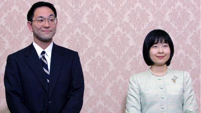 Принцесса Японии Нори и Есики Курода