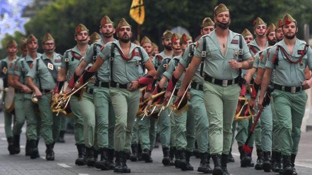 Іспанська елітний полк La Legion
