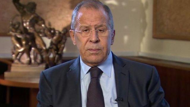 Lavlov avuga ko Uburusiya bufasha prezida Assad kugwanya abitwaza iterabwoba