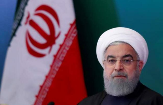 "ran's President Hassan Rouhani has said the overnight missile strike showed the country won't ""retreat in the face of America""."