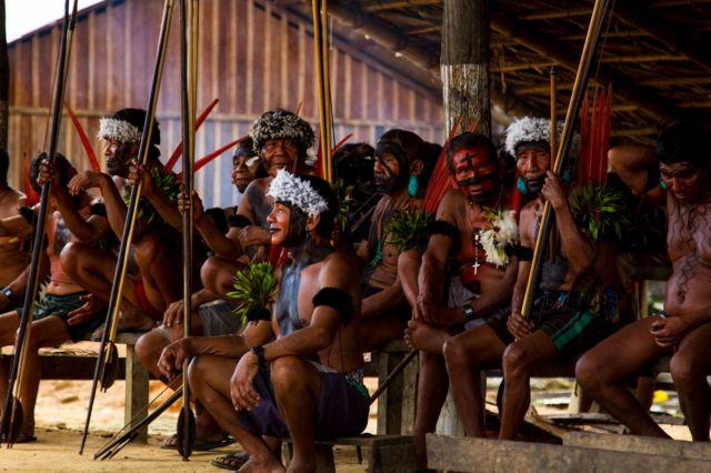 Xamãs do povo yanomami
