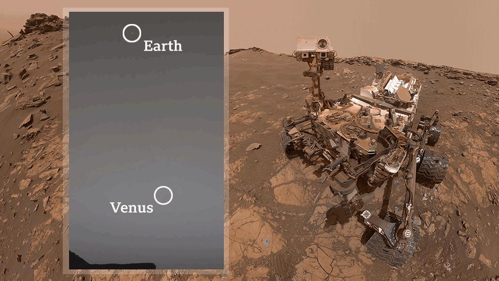 La Terre et Vénus