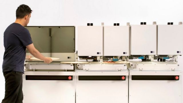 Robot pizza maker