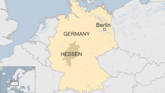 ヘッセン州の位置